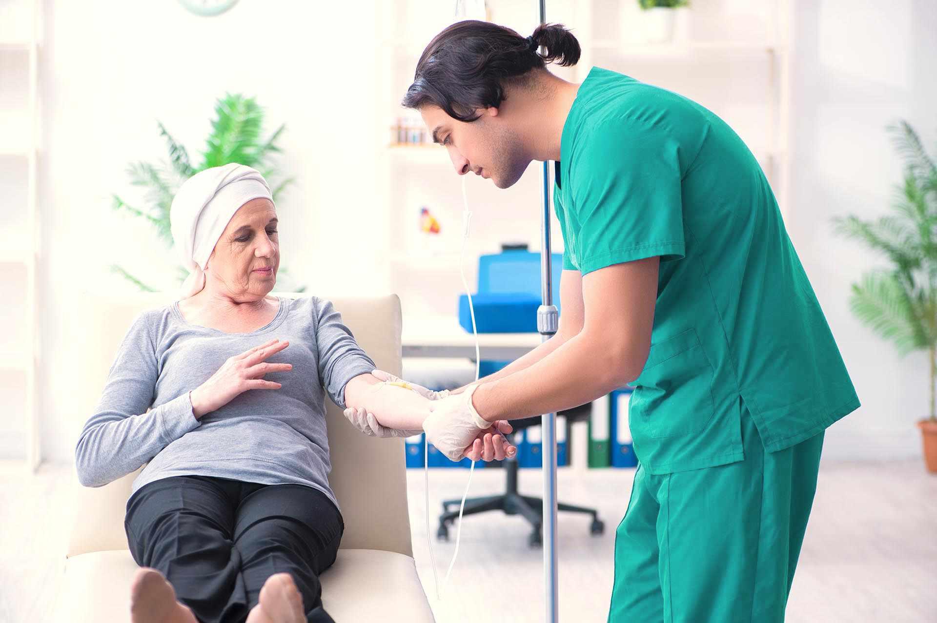 Durchführung der Chemotherapie